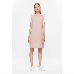 Cos Pink Sleeveless Sweatshirt Dress